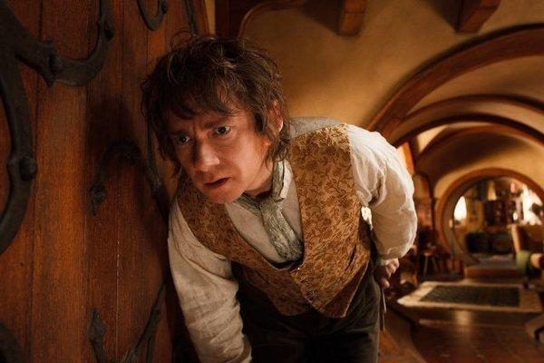 "Martin Freeman stars in ""The Hobbit: An Unexpected Journey,"" which was the No. 1 film at the box office for the second consecutive week."