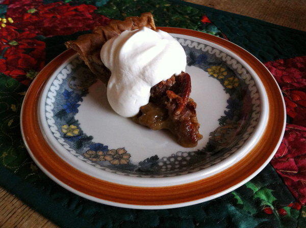 Pecan pie is a Christmas favorite of one Times Food staffer.