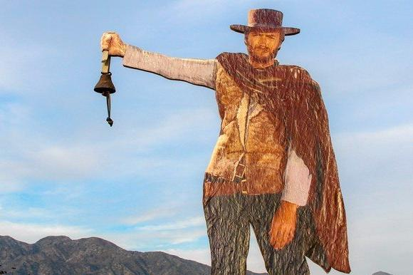 Clint Eastwood cutout