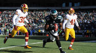 PICTURES:  Eagles vs Redskins Game Action