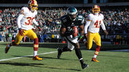 Pictures:  Eagles vs Redskins