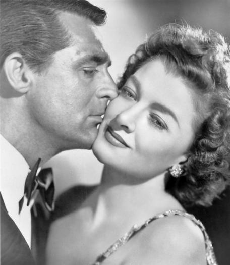 Cary Grand and Myrna Loy