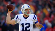 KANSAS CITY, Mo. -- Quarterback Andrew Luck directed the Indianapolis Colts another rung up the NFL ladder in a 20-13 victory over the Kansas City Chiefs on Sunday afternoon at Arrowhead Stadium.