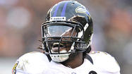 Ravens starting inside linebacker Dannell Ellerbe is active for today's game against the New York Giants after missing the previous three games with a sprained right ankle.