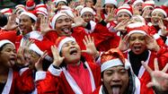 Smiling Yoga Club Santas