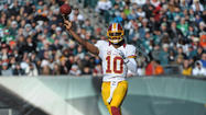 Redskins hold on against Eagles