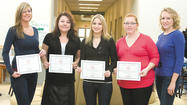 Five Hagerstown Community College students recently won awards during the Maryland Society of Radiologic Technologies Student Essay Competition.