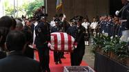 Sen. Daniel Inouye gets hero's farewell at Hawaii funeral