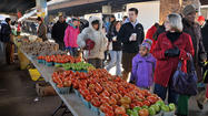 Sad farewells as farmers' market shutters stalls for season