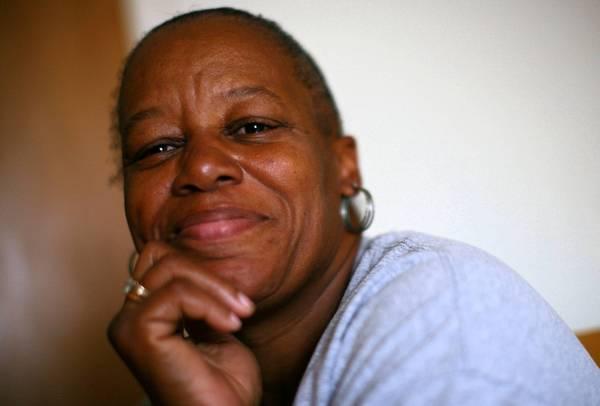 Deborah Clark in her Evanston home .