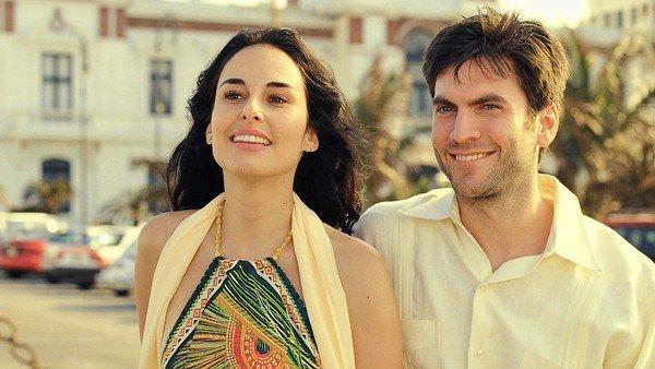 "Ana Serradilla and Wes Bentley star in ""Hidden Moon."""