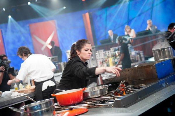 "Alex Guarnaschelli in ""Next Iron Chef"""