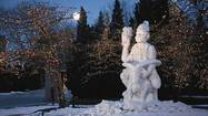 Snow sculptures in Wisconsin