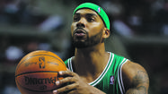 Boston Celtics forward-center Chris Wilcox will miss a month because of an ulnar collateral ligament sprain in his right thumb, coach Doc Rivers said, according to ESPN.com.