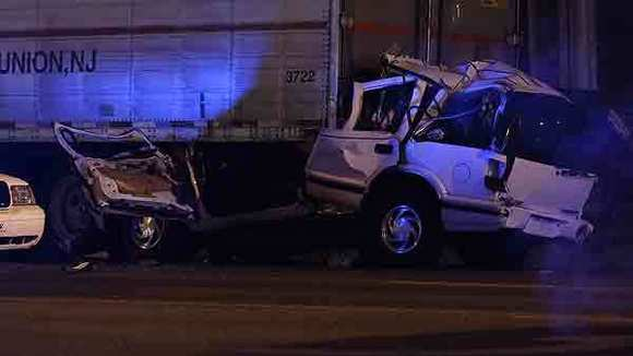 Driver killed in early-morning crash