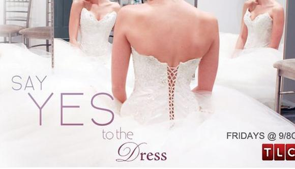 Our blogger found her own dream dress at the store that hosts a TLC reality show.