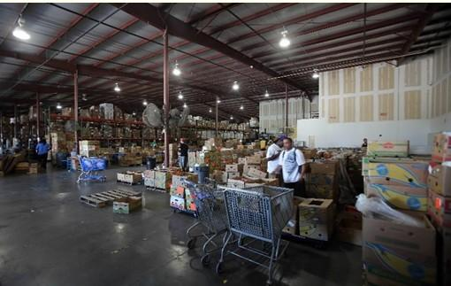 Harvest Time International's warehouse in Sanford