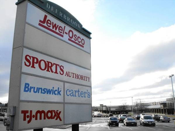Deerbrook Mall and Lake Cook and Waukegan roads is part of a retail corridor village trustees hope to strengthen with zoning code changes.