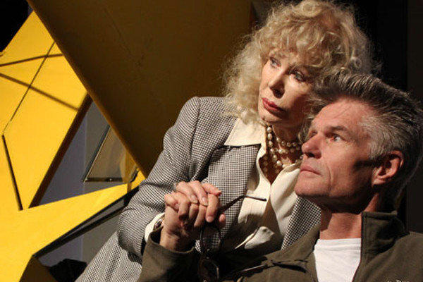 "Loretta Swit and Harry Hamlin star in the world premiere of the play ""One November Yankee."""