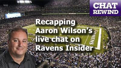 Chat wrap: Ravens Q&A with reporter Aaron Wilson