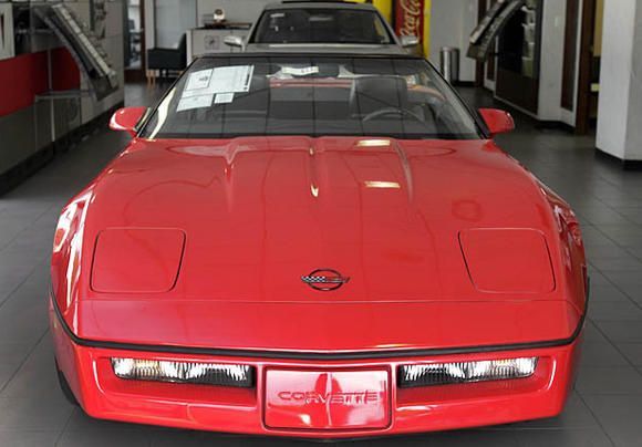 The 1989 Corvette a week before it was sold.