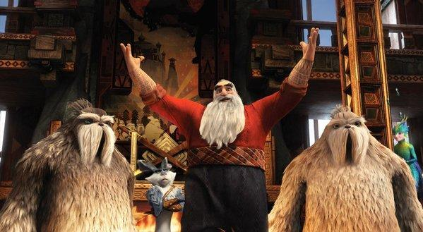 "Creating Santa for ""Rise of the Guardians,"" author William Joyce used Sean Connery's ""huge life force"" as an inspiration."