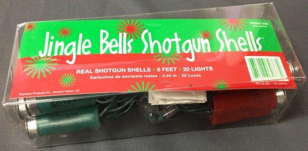 TSA officers discovered these shotgun shell lights on a passenger at Newark Liberty International Airport.