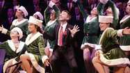 "The spirit of the holidays came in with a rush of wonderful music, dance and humor at the ""Holiday Spectacular"" performance by the Gay Men's Chorus of Los Angeles last weekend at the Alex Theatre in Glendale."