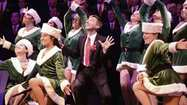 Chorus belts out 'Holiday Spectacular'