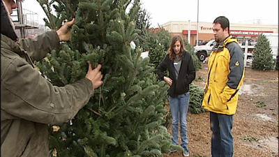 For some, Christmas Eve isn't too late to buy Christmas tree