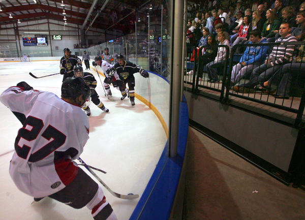 The Aberdeen Wings have played to big home crowds at the Odde Ice Center since their debut in 2010. American News Photo by John Davis