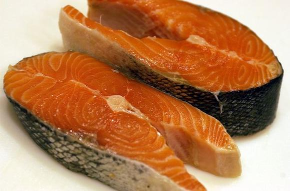 Genetically modified salmon