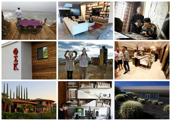Our most-viewed home photo galleries covered much territory: smartly edited modern houses, eco-minded design experiments, celebrity retreats and even a USC frat house.