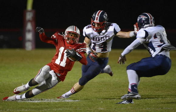 Lake Brantley safety/linebacker Colton Caslow (14) has committed to Lehigh University.