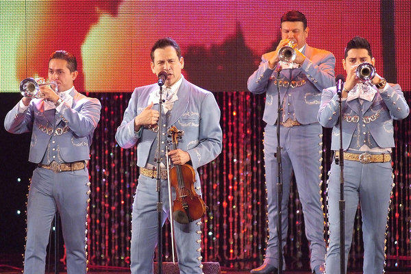 Mariachi Sol de Mexico de Jose Hernandez was among nearly two dozen performers at the 53rd L.A. County Holiday Celebration.