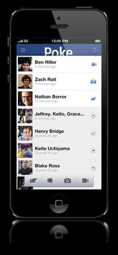 Poke is Facebook's new iPhone app.