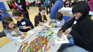 Hundreds get busy on 'Mitzvah Day'