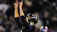 Justin Tucker's legs shook underneath him, and for a moment, he thought he might actually be nervous about kicking a field goal.