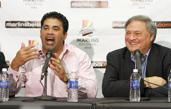 Believing Loria: Mark Buehrle, Jose Reyes and Heath Bell, free agents who signed with the Marlins last winter, had the rug pulled out from under them when owner Jeffrey Loria disbanded the $102 million team he put together for the launch of Marlins Park. Manager Ozzie Guillen was just as gullible in being lured to South Florida, but it's doubtful he would have had much shelf life on the South Side if he had stayed. He was fired by the Marlins with three seasons left on his four-year, $10 million deal.