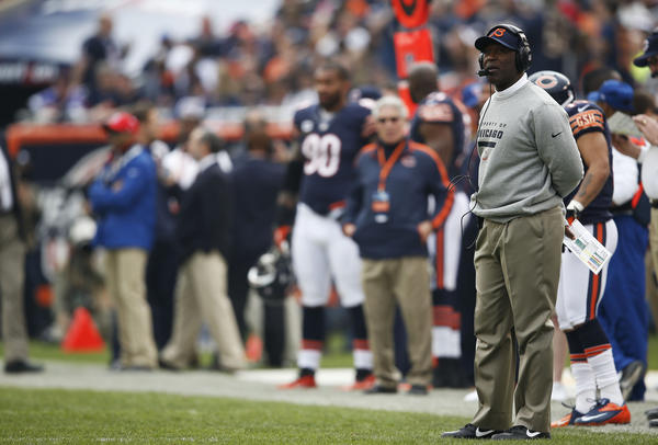 Kick it: Bears coach Lovie Smith has a penchant for getting outcoached by the Seahawks' Pete Carroll, and Smith's ill-fated decision to eschew a field goal resulted in a fourth-down stop that vaulted the Seahawks to an overtime victory and heighten the Bears' desperation.