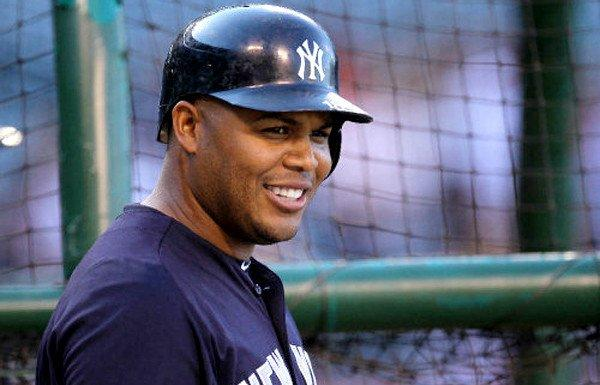 Outfielder Andruw Jones spent the last two season with the New York Yankees.