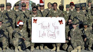 Soldiers in Afghanistan receive love — and goodies— from Lake residents