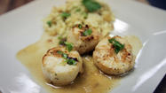 For a spur of the moment semi-fancy meal, you can't beat scallops.