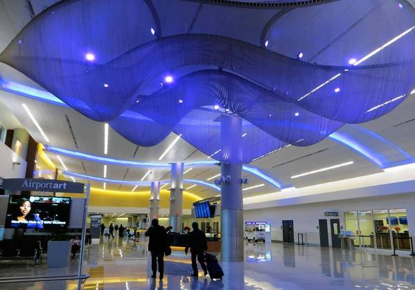 """Mammatus,"" an installation at Hartsfield-Jackson Atlanta International Airport, is among the latest and most ambitious efforts to expand airport art programs."