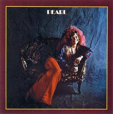 "Janis Joplin's 1971 ""Pearl"" album cover. Tom Wilkes designed and photographed the cover."
