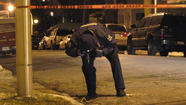 An 18-year-old man was shot and killed and five other people were wounded, including an 11-year-old boy, across Chicago Christmas evening and early this morning.
