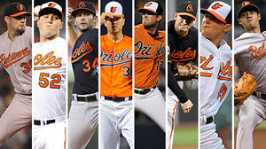 Which five pitchers would make up your Orioles starting rotation?