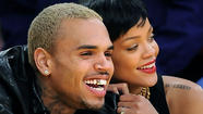 Rihanna, Chris Brown make their togetherness public at Lakers game