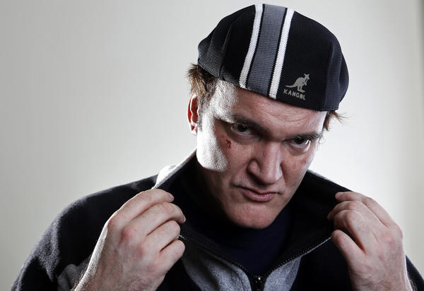 "Director Quentin Tarantino poses for a portrait while promoting his movie ""Django Unchained"" in New York."