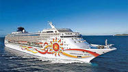 Norwegian Cruise Line offers a 7-night Alaskan cruise on the Norwegian Sun for as little as $279, based on double occupancy.